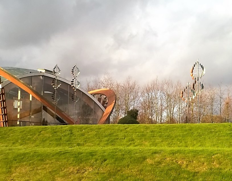 WindSculptures bij Bomencentrum Nederland